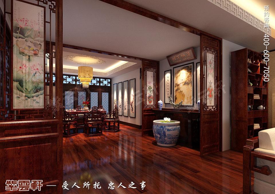 门厅中式风格装修