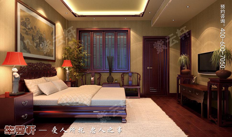 中式老人房装修图