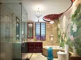 优雅诗意的中式卫生间