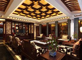 中式客厅装修四大要素