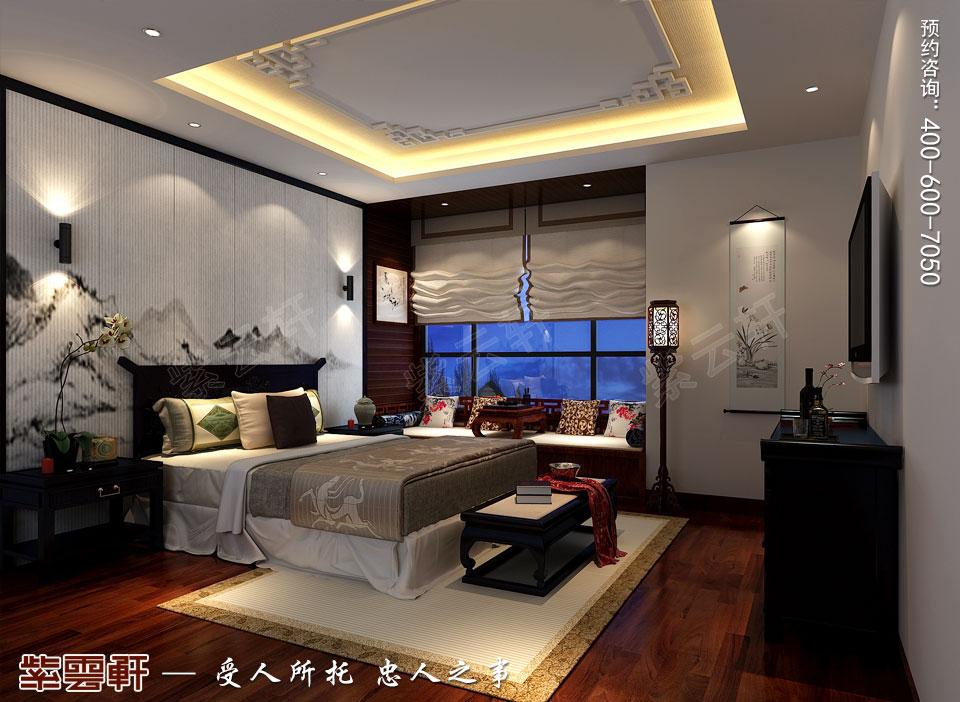 枕松卧云,心有清风明月——打造雅致的中式卧室
