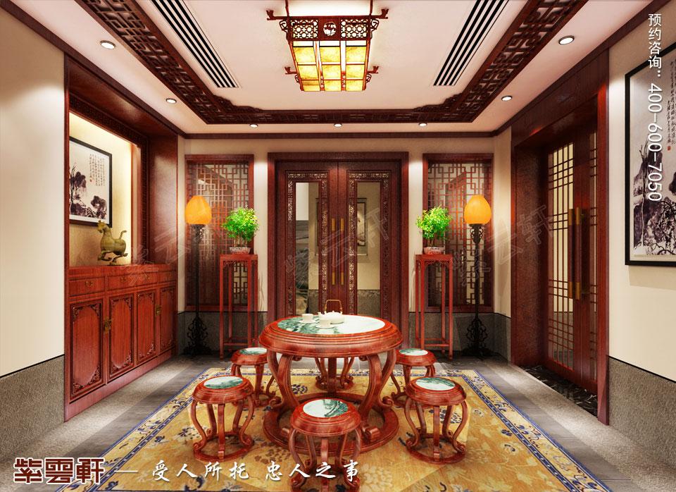茶室中式装修