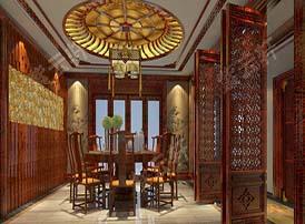 中式装修餐桌材质的选择