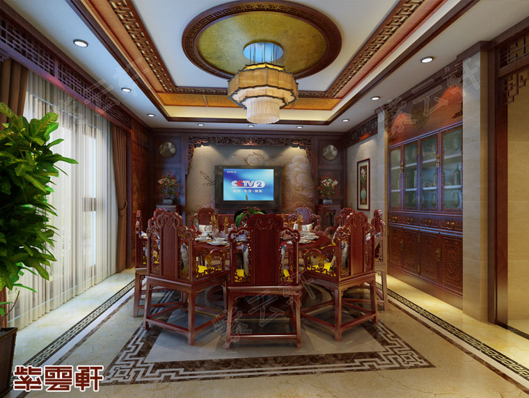 绿蚁新醅酒,红泥小火炉 —— 特色十足的中式餐厅