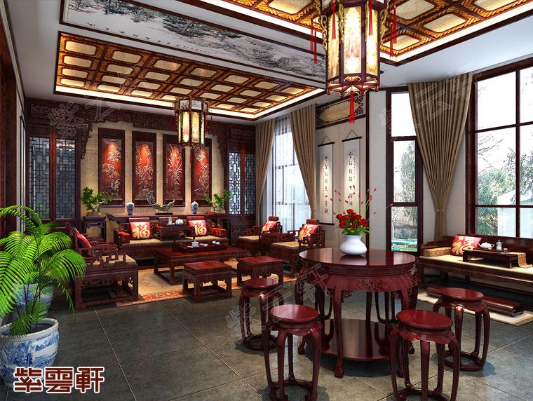 客厅中式设计