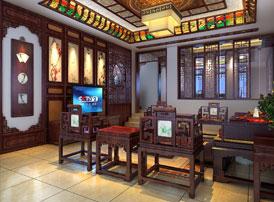 中式书房装饰的陈设之道