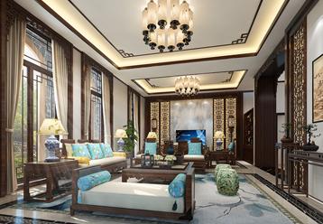 九间堂现代中式风格装修案例 清素淡雅,别有意蕴