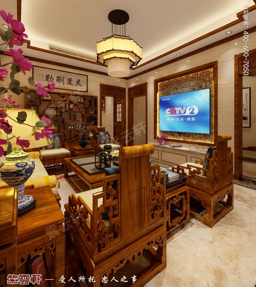 别墅客厅中式装饰图片.jpg