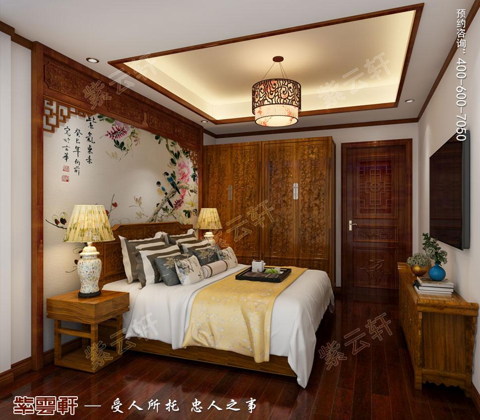 别墅老人房中式装饰图片.jpg