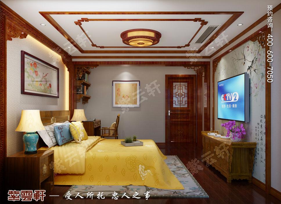 别墅次卧中式装饰图片.jpg