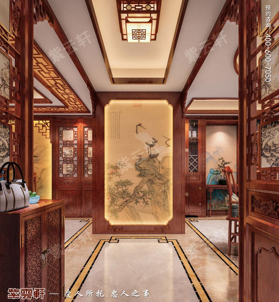 门厅古典中式装饰图片