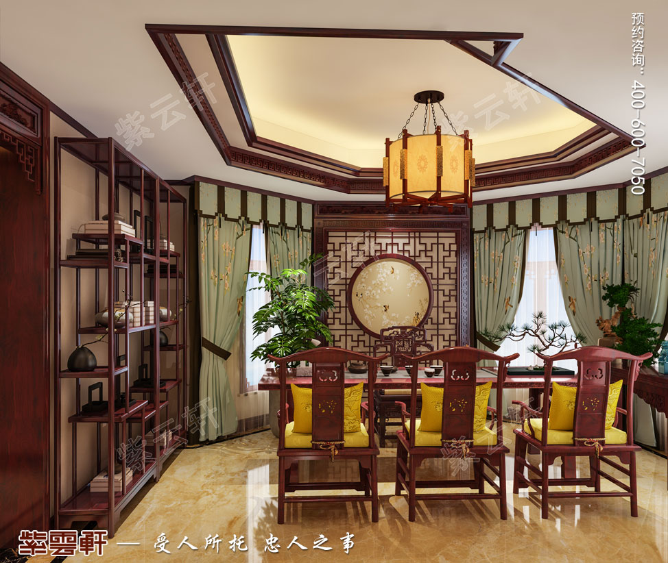 茶室古典中式装饰图片