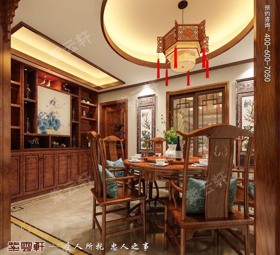 餐厅古典中式装饰图片