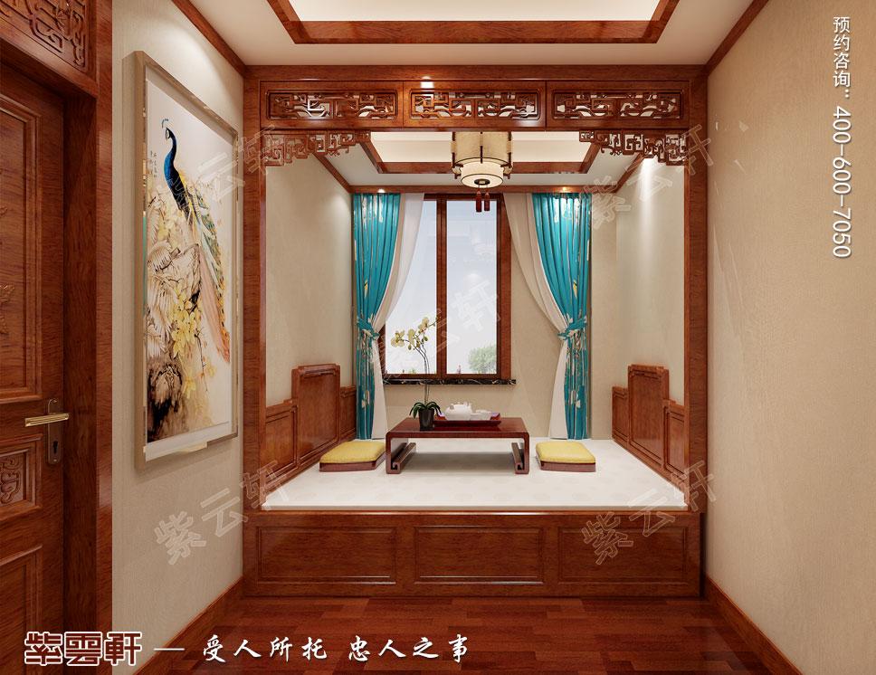 别墅客卧简约古典中式装饰效果图