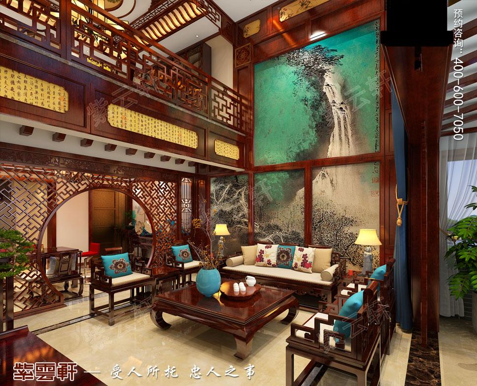 客厅简约古典中式装修图片