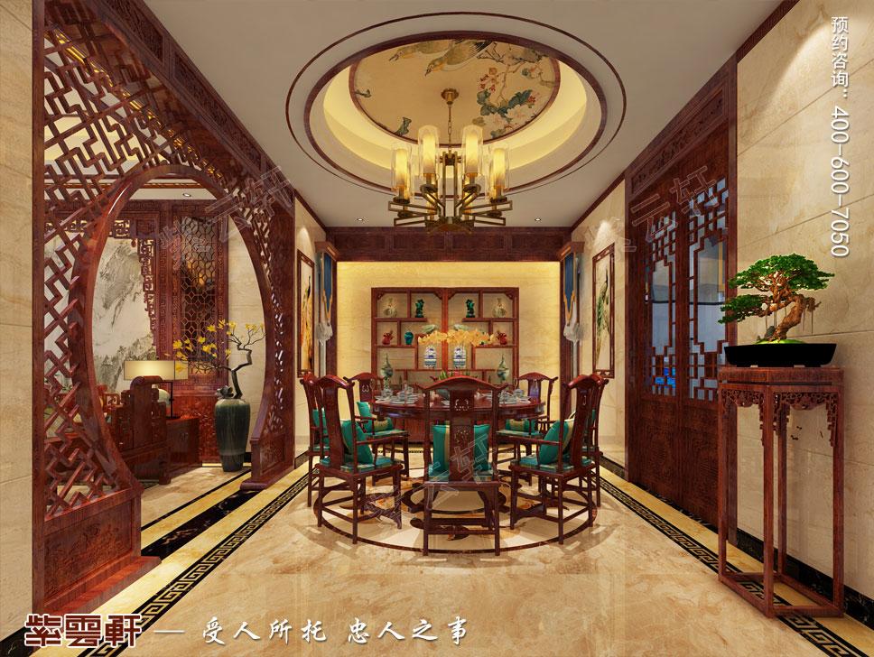 餐厅简约古典中式装修图片