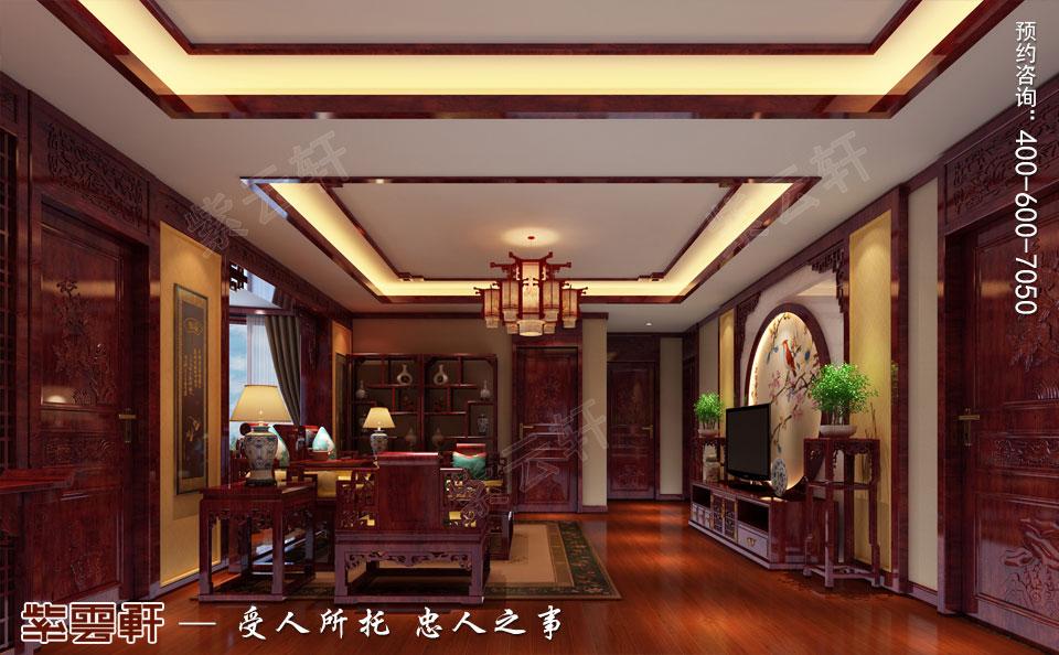 客厅简约中式装修效果图