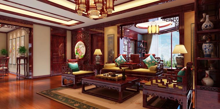 郑州复式简约中式装修效果图 寻得一份久违的宁静生活