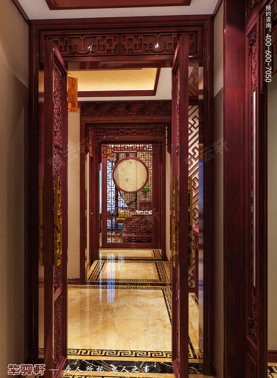 走廊古典中式装修图片