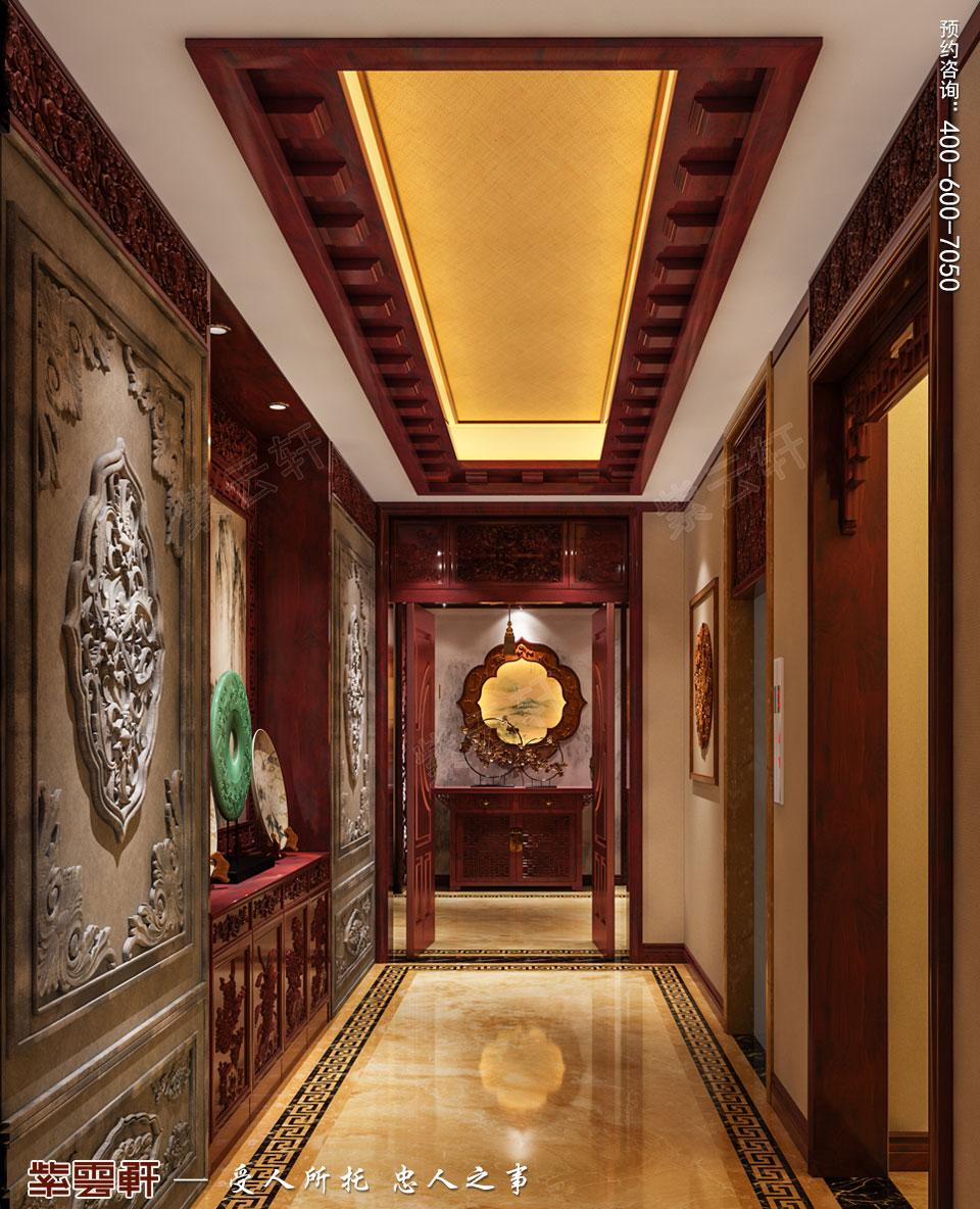 门厅古典中式装修图片