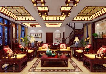 黑龙江绥化别墅现代中式设计效果图赏析 大气唯美,意境出众