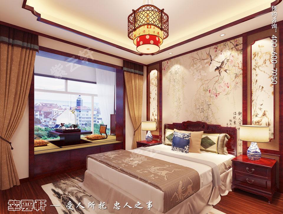 卧室中式装修装饰图片