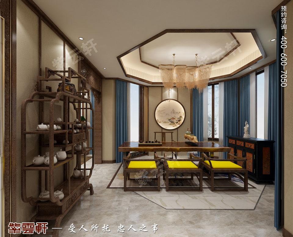 中式装饰茶室图片