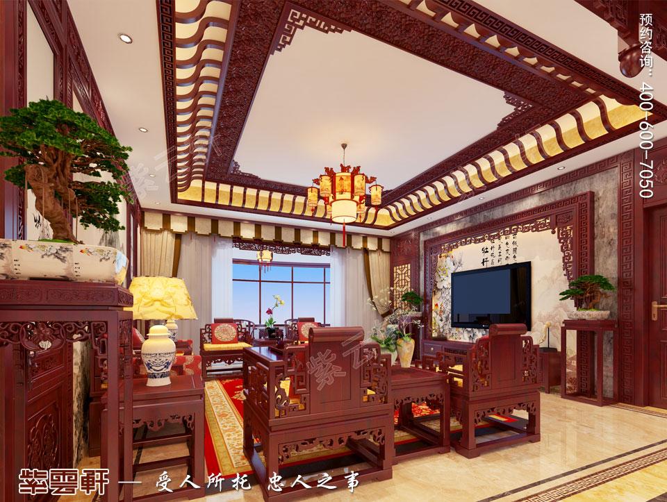 中式装饰客厅图片