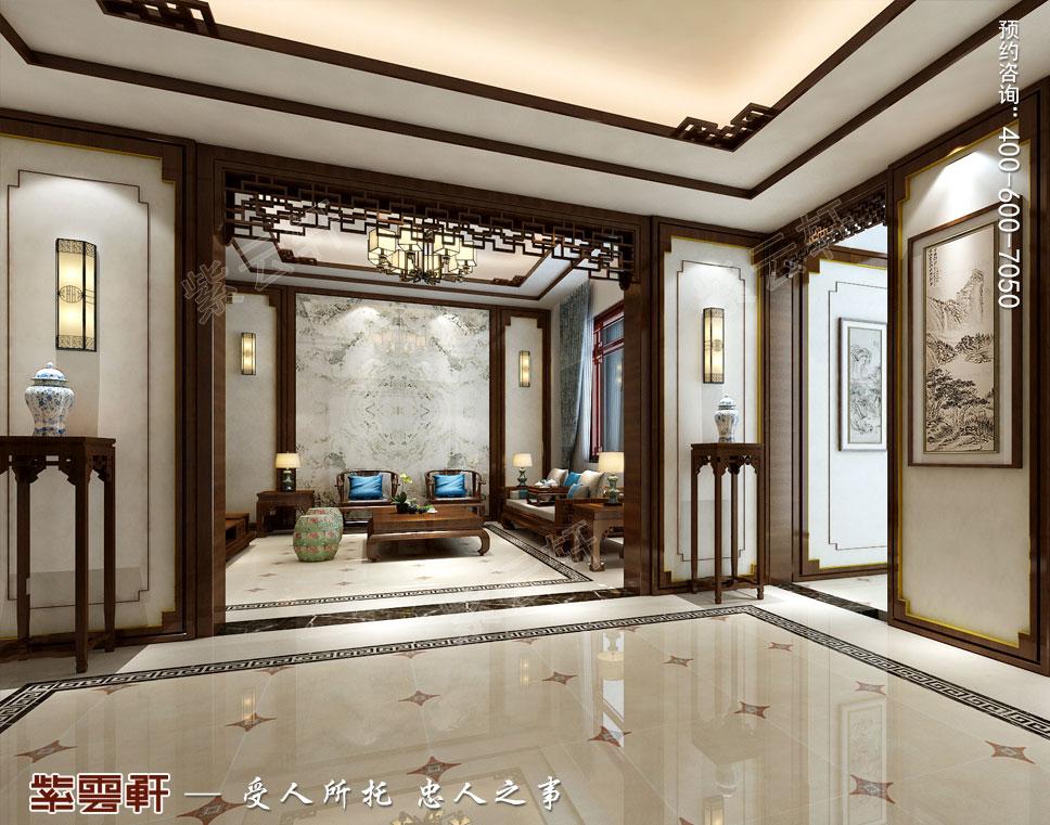 等候休闲厅现代中式装饰效果图