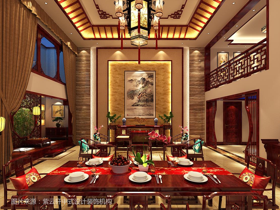 大气奢华的中式装修风格