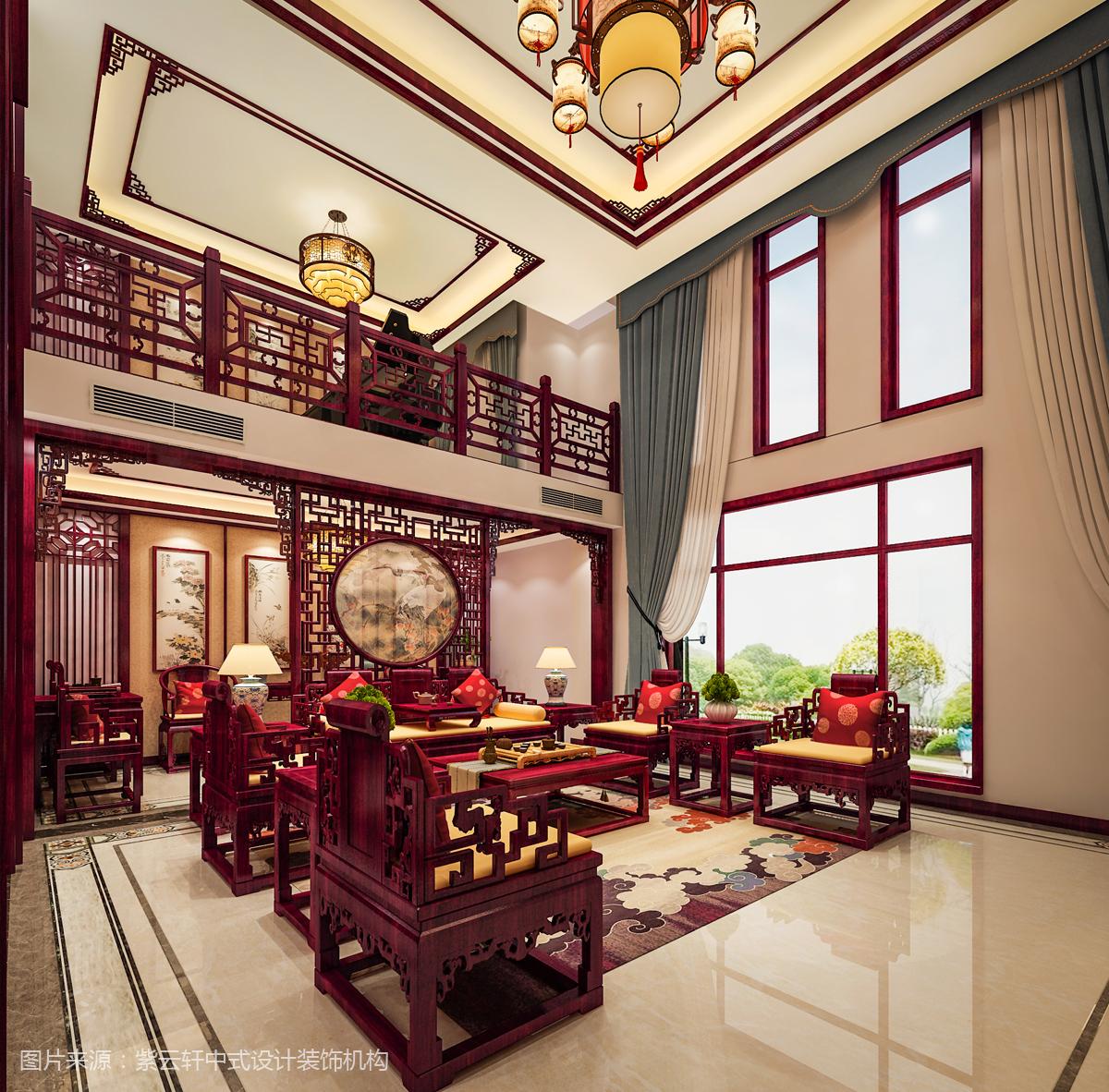 中式设计 别墅中式设计