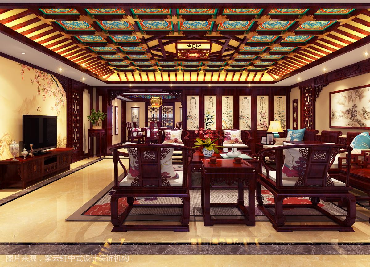自建别墅中式装修