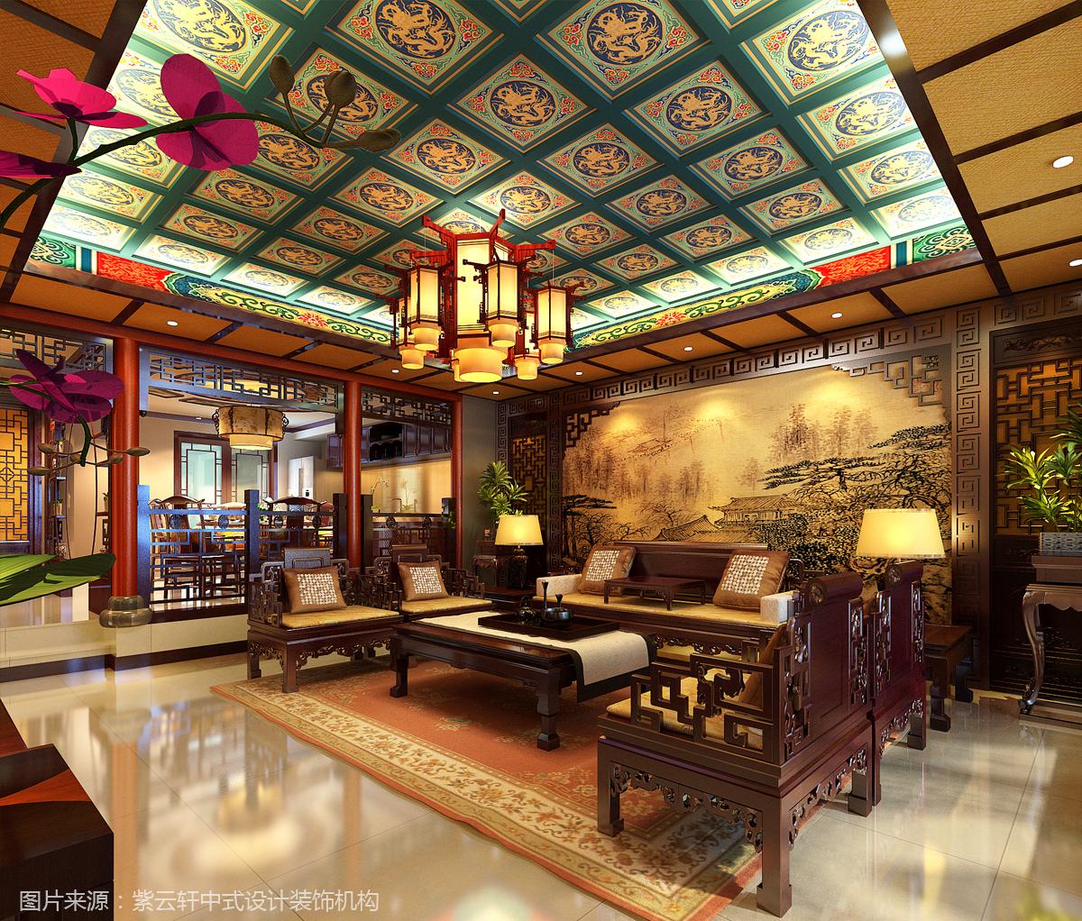自建房装修成中式风格才是梦想