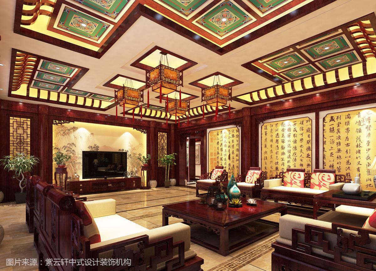 别墅中式装修