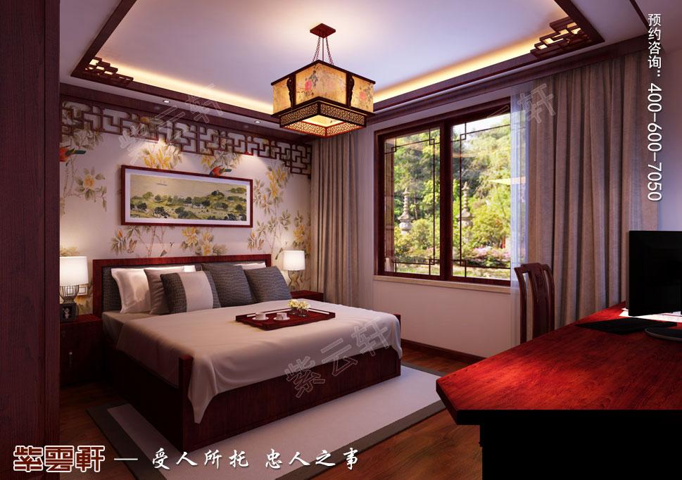 卧室中式装修次卧