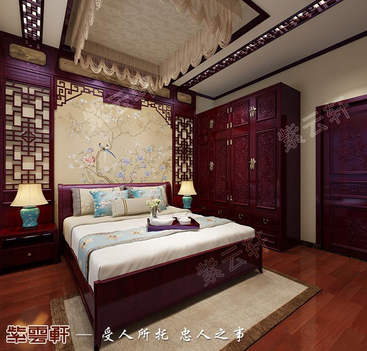 中式设计 卧室图