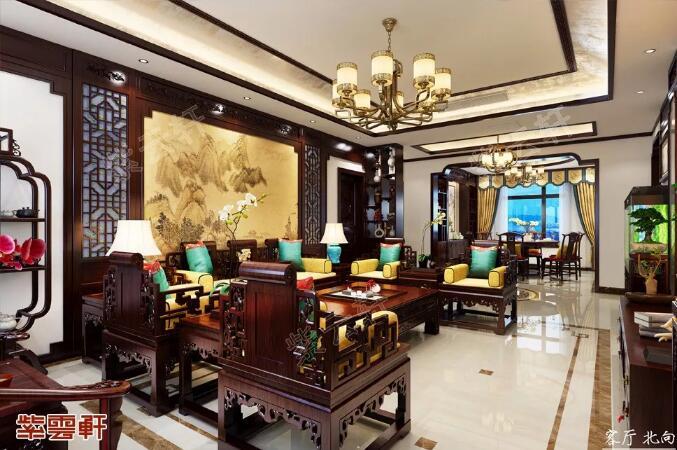 中式设计 客厅