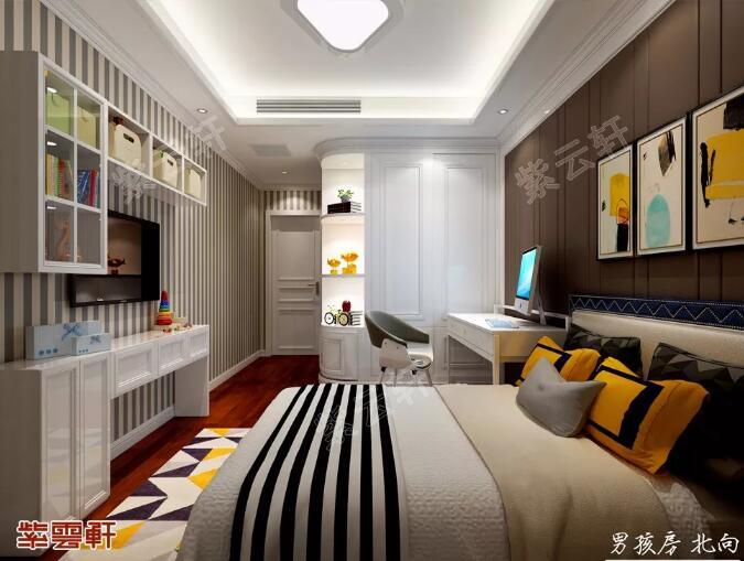 中式设计 次卧