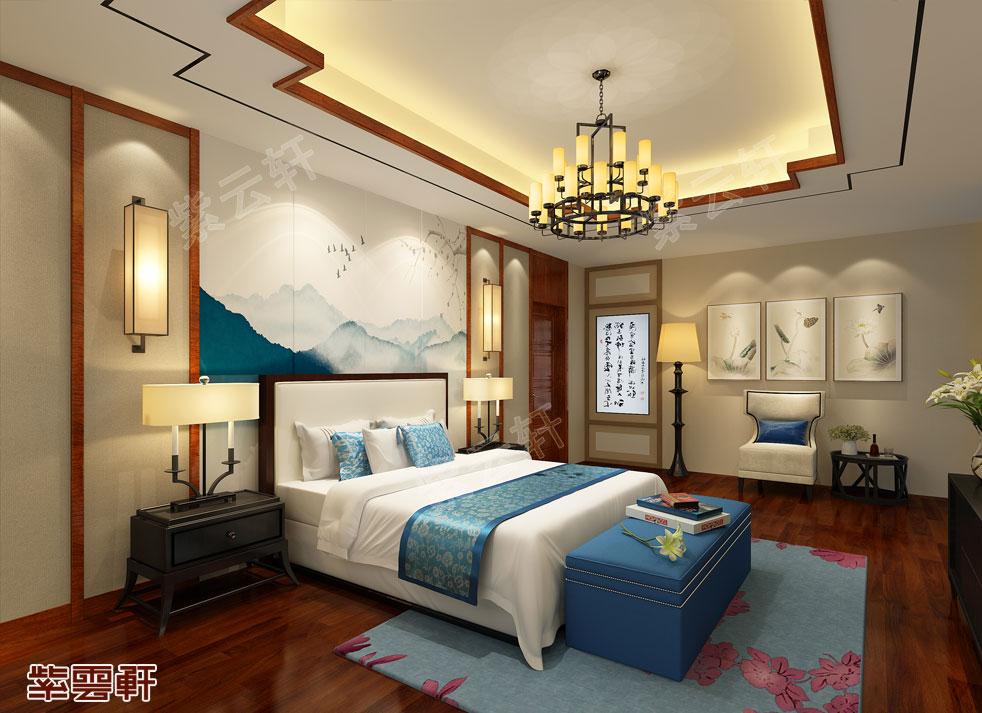 山西张老师  中式自建房  卧室效果图