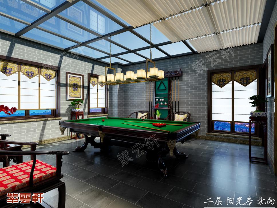 中式设计 采光房