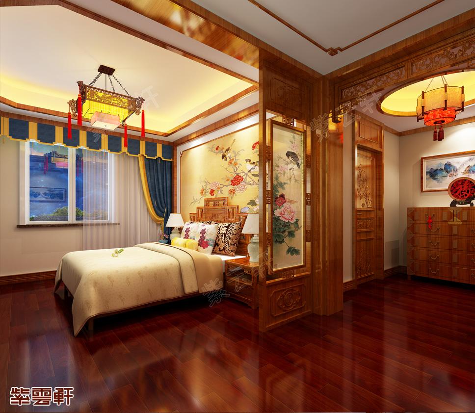 带你鉴赏扬州杨总独栋别墅古典中式设计效果图 至美至真