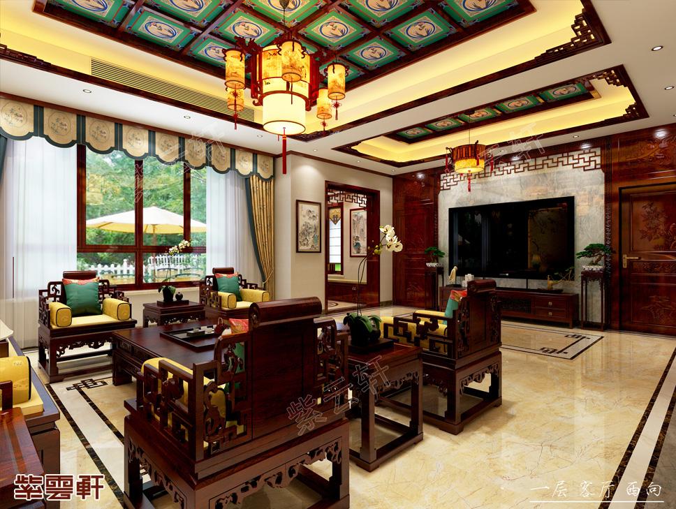 山东滕州姜先生别墅现代中式装修效果图-中国之韵