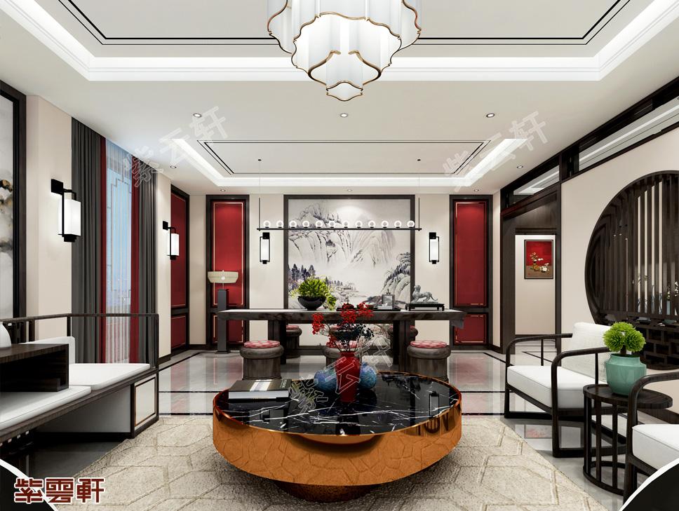 河北石家庄李先生新中式装修 美艳低调的复古风