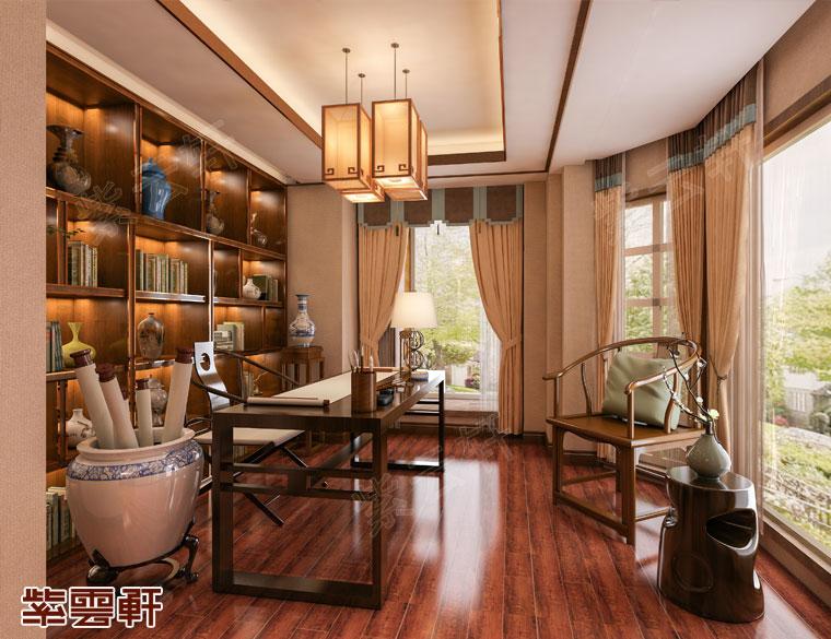 江西宜春市大平层中式装修 最美中国风