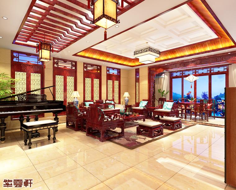 四川省巴中市别墅中式装修 择一良地而居