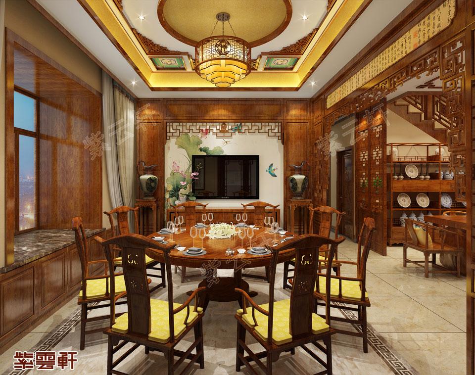 云南普洱市别墅中式装修 一缕阳光一抹清香