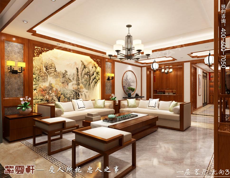 青岛市别墅中式装修 第一眼就足够惊艳!