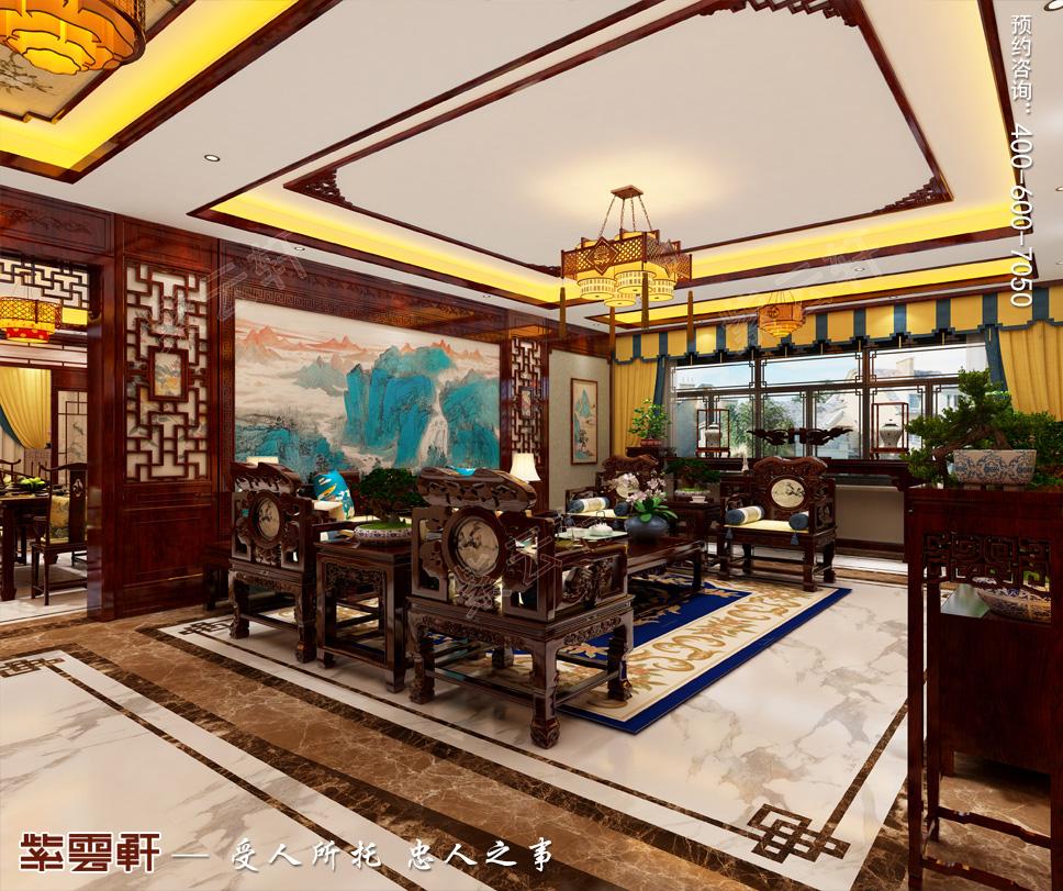 北京市别墅中式装修 满眼都是惊艳!