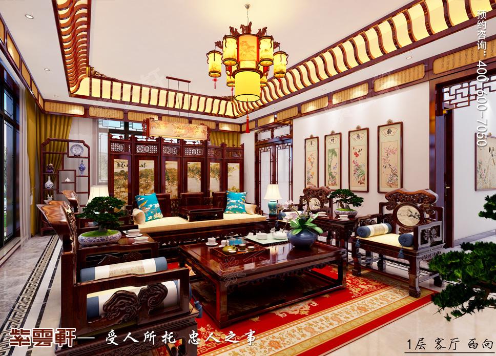 江苏省苏州市别墅中式装修——绝美的中国色