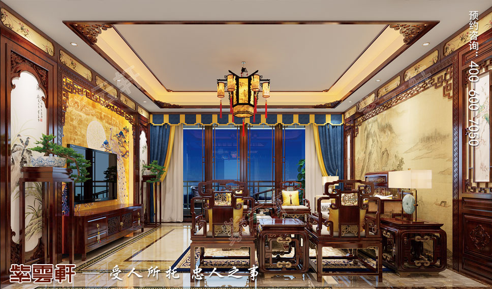 """北京优雅复古风中式别墅——令人痴迷的""""时尚"""""""